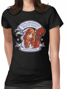 Loyal, Determined White Mage Womens Fitted T-Shirt