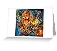 My little Mermaid Betsy Greeting Card