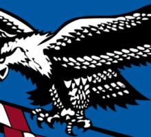 Latvian Air Force Emblem Sticker