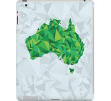 Abstract Australia Emerald Forest iPad Case/Skin