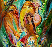 Rebecca watered the camels by Elena Kotliarker