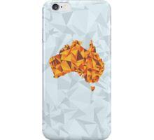 Abstract Australia Desert Rock iPhone Case/Skin