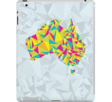 Abstract Australia Bright Earth iPad Case/Skin