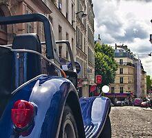 Paris Streets by GiuseppeZ
