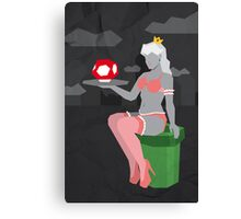Ladies of Nintendo - Peach Canvas Print