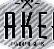 MAKERS - Handmade Goods Sticker