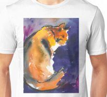 Pensive Cat Unisex T-Shirt