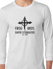 FROG BROS VAMPIRE EXTERMINATORS Long Sleeve T-Shirt