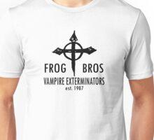 FROG BROS VAMPIRE EXTERMINATORS Unisex T-Shirt