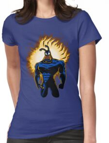 The Dark Mite Rises Womens Fitted T-Shirt