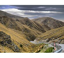 From the Crown Range Road. ( 7 ) Through the Khyber Pass ? Photographic Print