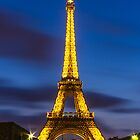 Eiffel Tower iPhone case by John Velocci