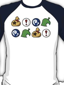 Animal Crossing Items 2 (in many colours!) T-Shirt
