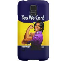 Recovery.gov Michelle Obama as Rosie The Riveter Samsung Galaxy Case/Skin