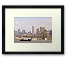 New York, NY Framed Print