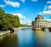 Museum island on Spree river, Berlin by Michael Abid