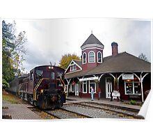 Northwest Railway Museum, Snoqualmie, WA Poster