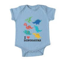 I love dinosaurs Kids Clothes