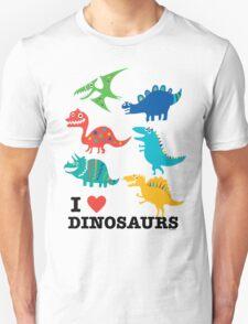 I love dinosaurs T-Shirt