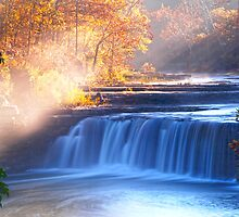 CATARACT FALLS INDIANA'S LARGEST by Randy & Kay Branham