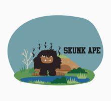 Cute Skunk Ape One Piece - Long Sleeve