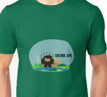 Cute Skunk Ape Unisex T-Shirt
