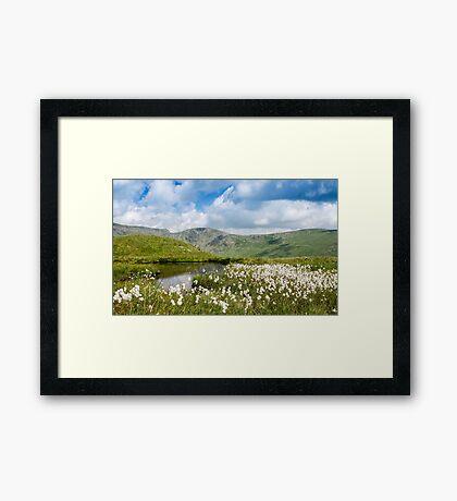 Cotton Tarn, Lake District National Park Framed Print