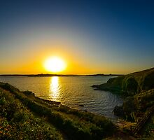 A Cornwall Sunset by BreakerSteve