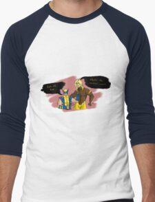 Back Off, Bub Men's Baseball ¾ T-Shirt