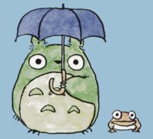 Tototo and Frog in the Rain Kids Clothes