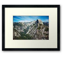 Yosemite Valley - Glacier Point Framed Print