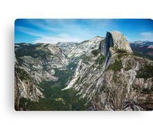 Yosemite Valley - Glacier Point Canvas Print