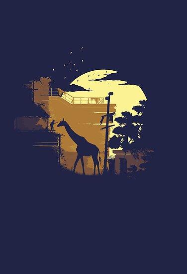 The Last of Us Ellie & Giraffe by brandonmeier