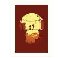 The Last of Us Plankin' Art Print