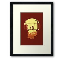 The Last of Us Plankin' Framed Print