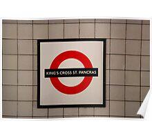 King's Cross St.Pancras Poster