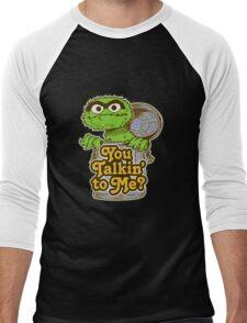Oscar the grouch Men's Baseball ¾ T-Shirt