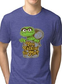 Oscar the grouch Tri-blend T-Shirt