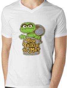 Oscar the grouch Mens V-Neck T-Shirt