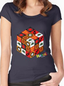 Kubrick Cube Women's Fitted Scoop T-Shirt