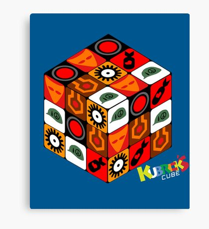 Kubrick Cube Canvas Print