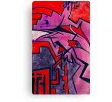 shuteye in red Canvas Print