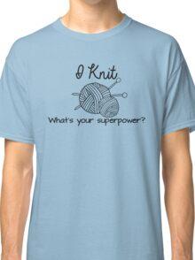 I Knit Classic T-Shirt