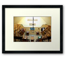 The Old Operating Theater - London  Framed Print