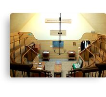 The Old Operating Theater - London  Canvas Print
