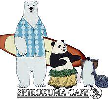 Shirokuma Cafe by GeneralIlya