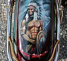 Wild Warrior - The legend of harley davidson - Made in U.S.A. Life as Art only by... <<<  C A N O N >>>.   唵嘛呢叭咪吽. by © Andrzej Goszcz,M.D. Ph.D