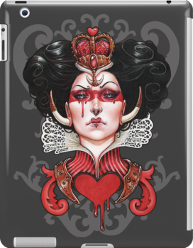 Queen of Hearts by Medusa Dollmaker