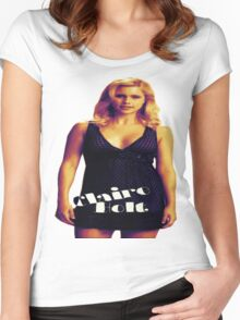 Claire Holt #1 Women's Fitted Scoop T-Shirt