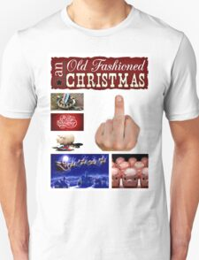 an old fashioned Christmas T-Shirt